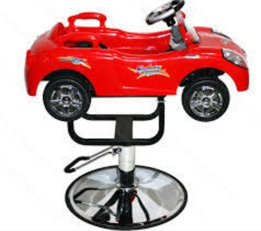 Cadeira de Corte Infantil Criança Carrinho Cabeleireiro Carro Barbeiro