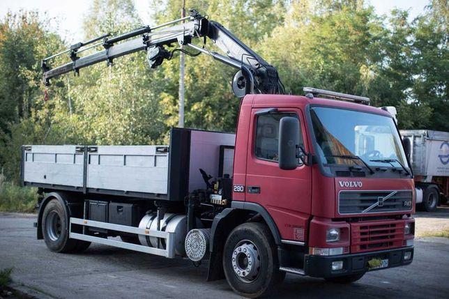 Usługi transportowe 9t HDS 3t  wywrot 3 strony odpady remontowe BIGBAG