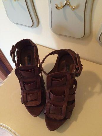 Zara szpilki sandały botki skóra