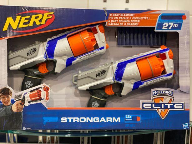 Набор игровой Nerf Elite Strongarm Бластер Нерф Nerf Hasbro