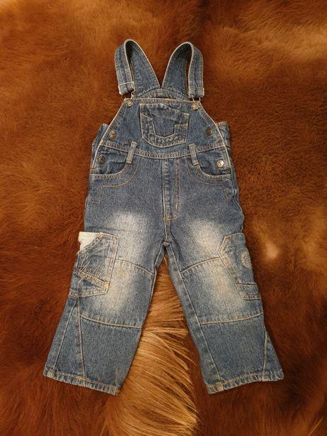 Комбинезон джинсовый на 2 года