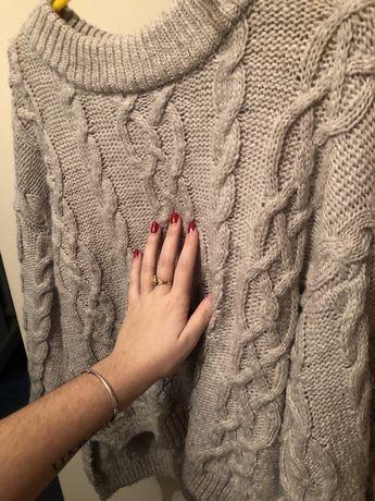 Szary sweterek lindex