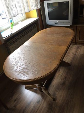 Duży stół do jadalni, rozkladany!