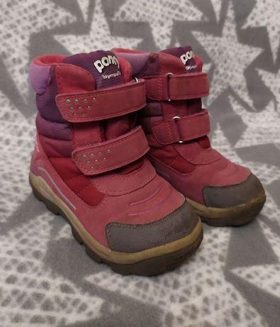 Термо ботинки деми для девочки Ponny Superfit зимние осенние сапоги