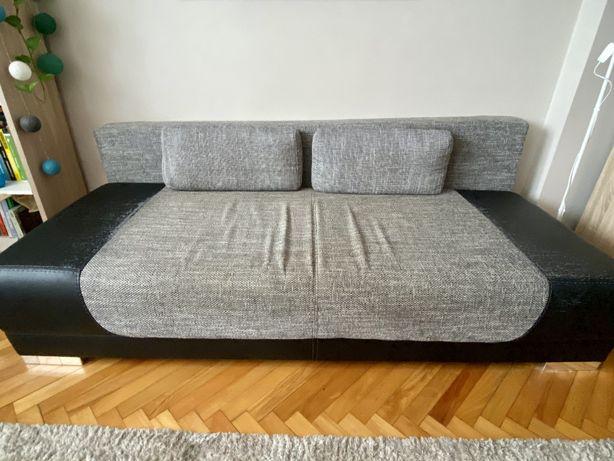 Agata Meble - rozkładana sofa z pojemnikiem