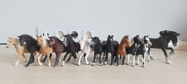 Konie Schleich od 20zł do 30zł