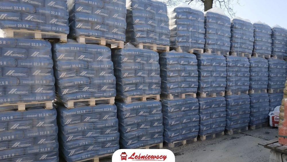 Cement workowany 32,5R UNIWERSALNY Cemex 480zł/t brutto TRANSPORT HDS!
