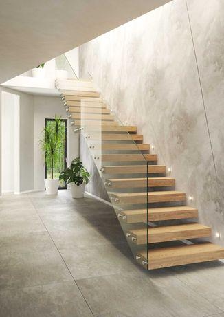 Stelaż konstrukcja schody półkowe, wspornikowe 399,99 zł