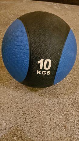 Piłka lekarska 10 kg medicine ball odbijająca
