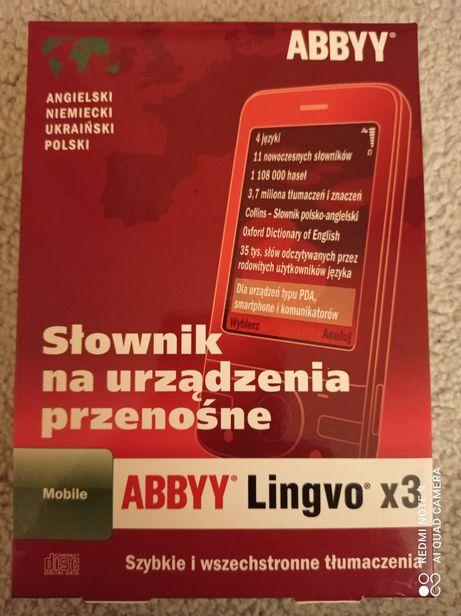 ABBYY Lingvo x3  Mobile słownik na urządzenia przenośne - nowy