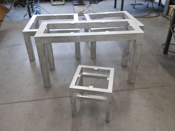 Stół ława krzeslo aluminum