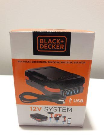 NOWY akumulator 12V do narzędzi Black&Decker