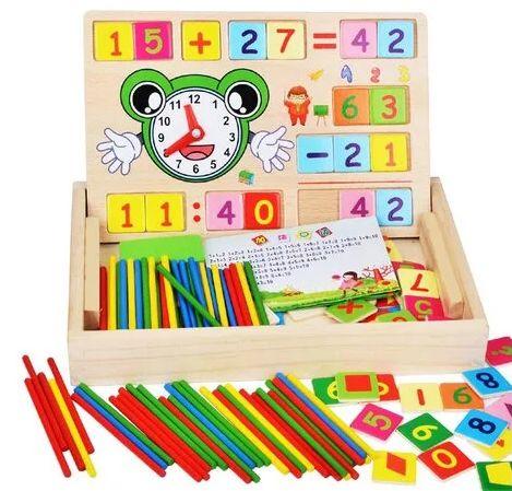 Обучающий набор Первоклассника счет цифры Развивающие деревянные