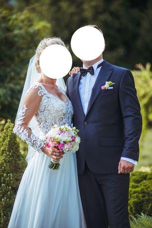 Sprzedam Suknię Ślubną Rozmiar 36/38 Stan Idealny suknia ślubna