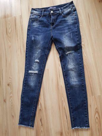 Spodnie jeans rozm.38