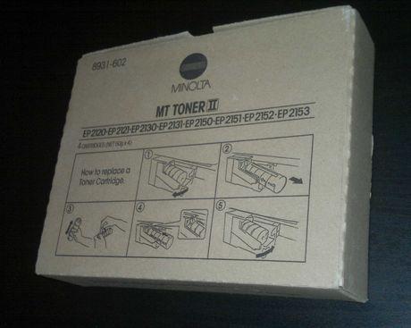 Pack 4 Toners Minolta  MT Toner II