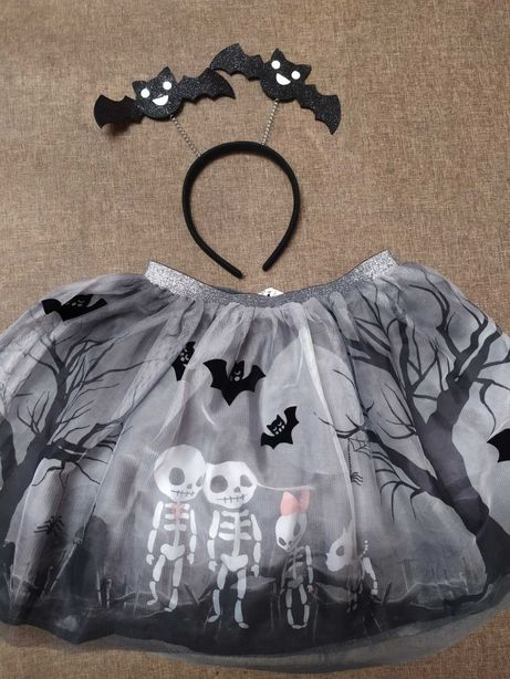 Костюм для Хеллоуина H&M: юбка, блузка и обруч
