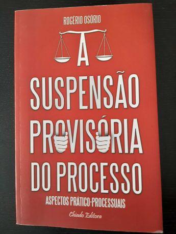Livro Curso Direito - A suspensão provisória processo (oferta portes)