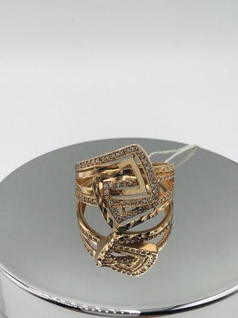 золото кольцо 585 проба каблучка