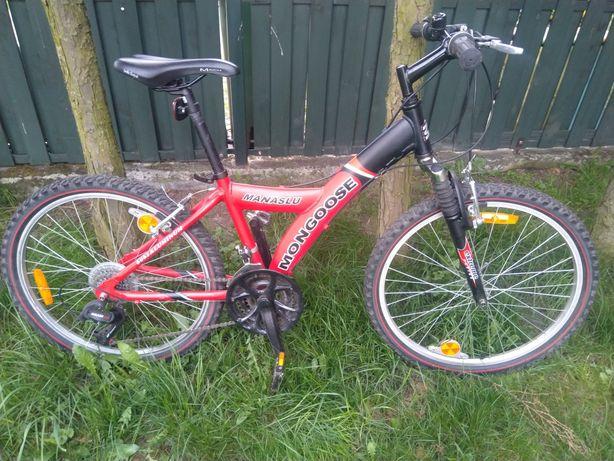 Mongoose Manaslu 24 rower górski młodzieżowy