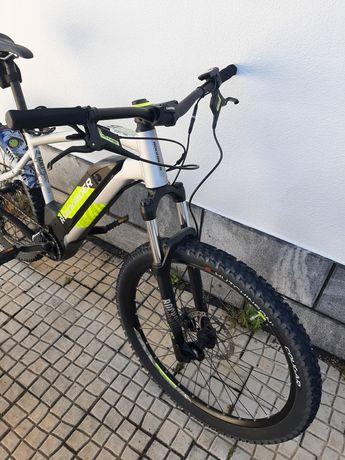 Rockrider e-st520 btt eléctrica, bicicleta eléctrica, ebike