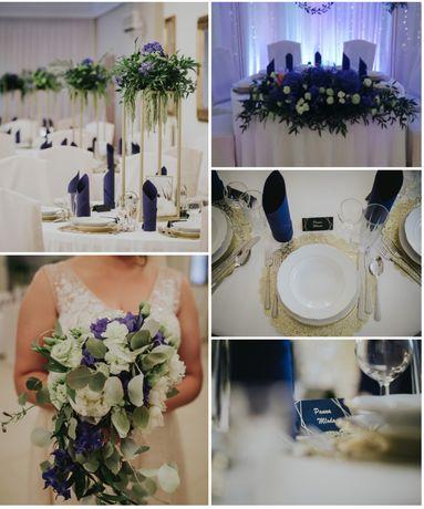 Dekoracja ślubu i wesela ślub wesele