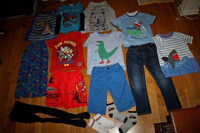 Пакет одежды ДОСТ.БЕСПЛ. на мальчика 122р. футболка джинсы шорты брюки