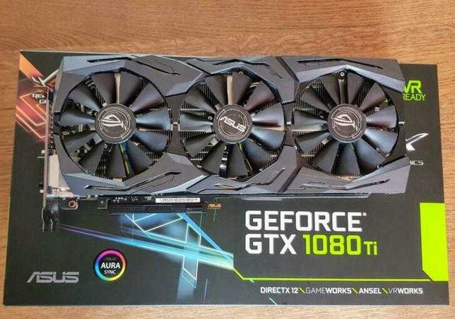 Karta graficzna ASUS GeForce GTX 1080 Ti Strix ROG 11GB GDDR5X
