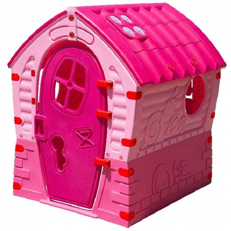 Palplay Domek Ogrodowy dla Dzieci. Pink. Nowy