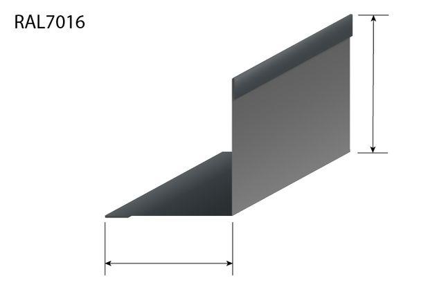 Narożnik zewnętrzny wewnętrzny płyta warstwowa obróbka blacharska