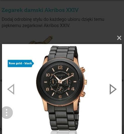 Zegarek damski AKRIBOS XXIV