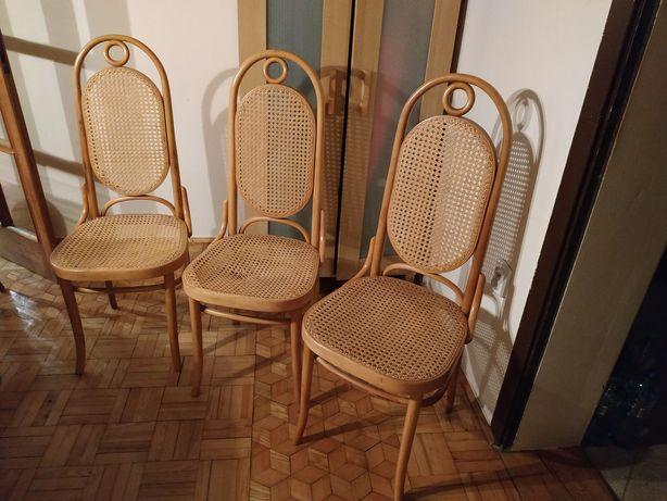 Krzesła gięte Jasienica rattan