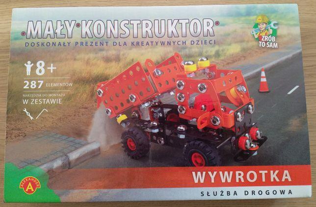 Mały konstruktor - Wywrotka - służba drogowa
