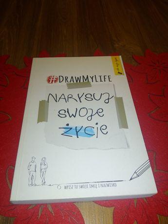 Książka #drawmylife narysuj swoje życie