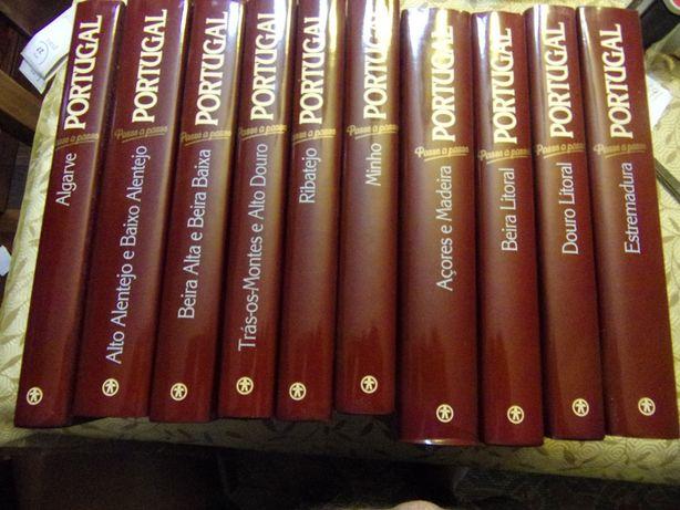 7942 - Coleção Portugal Passo a Passo da Ediclube (10 Volumes)