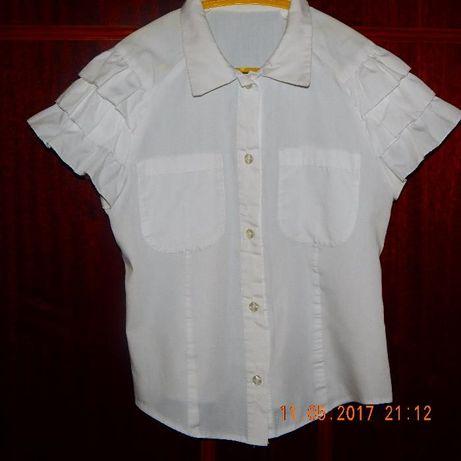 Блузка, рубашка школьная для девочки