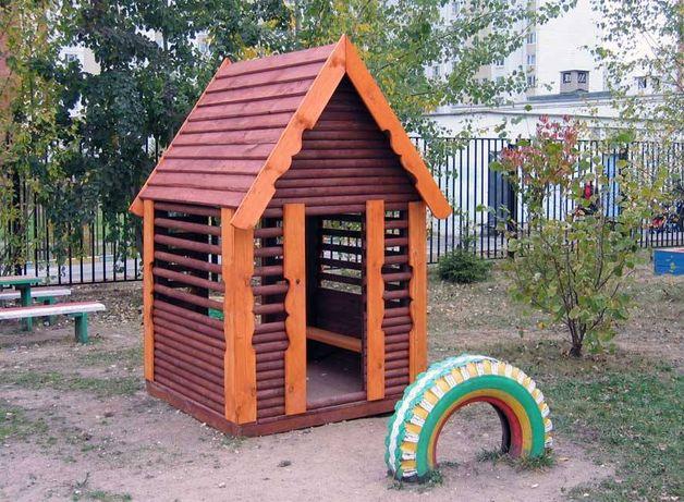 Детский Игровой Домик ( Натуральное дерево)