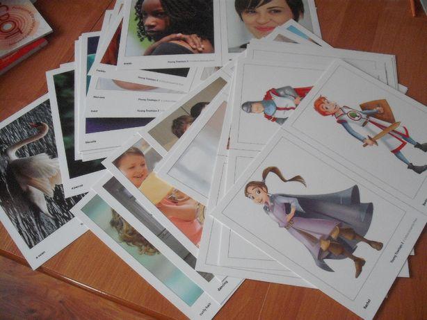 Young Treetops 3 karty obrazkowe flashcards angielski SP