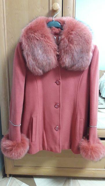 Зимове пальто 46-48р