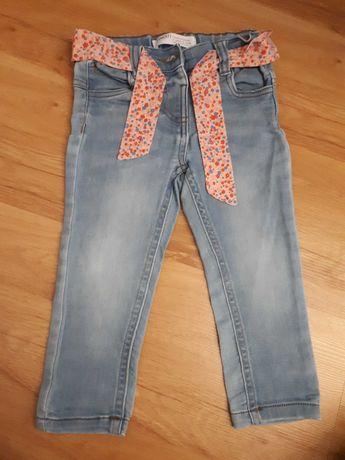 Spodnie jeansowe rozm.80-86