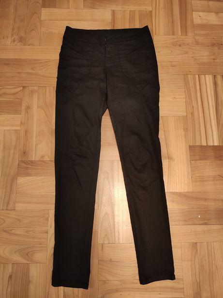 Czarne spodnie KappAhl rozmiar 34 XS
