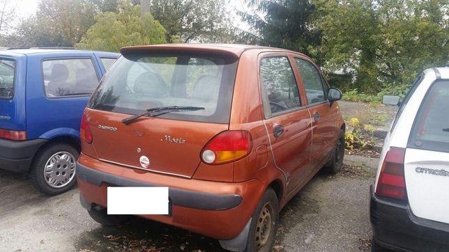 Daewoo Matiz miedziany cooper na części