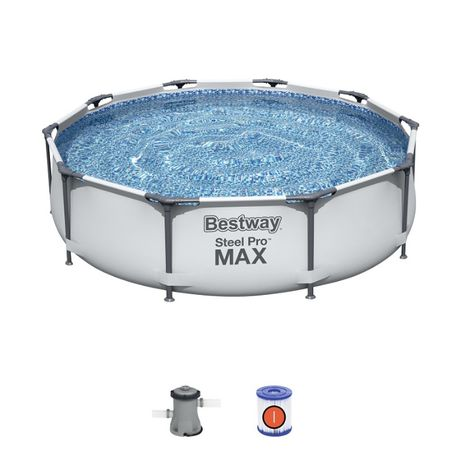 Basen Stelażowy BESTWAY 56408 z pompą 305 x 76cm Model 2021