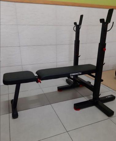 Banco de Musculação Inclinável com suporte