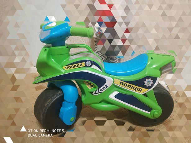 Мотоцикл байк детский