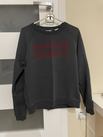 Bluza sportowa, levis, ciemno szara, rozmiar M