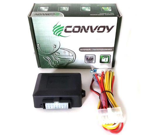 Доводчик стекол Convoy интерфейс стеклоподъемника дотяжка стекла