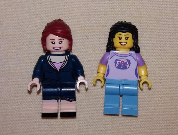Лот минифигурки 2шт Lego City Лего Сити девочки кастомные