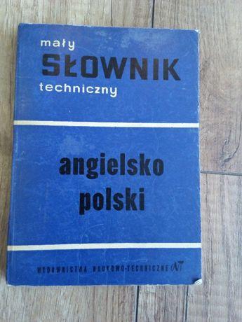 Mały Słownik Techniczny Angielsko-Polski S. Czerni, M. Skrzyńska
