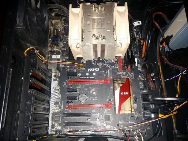 Материнская плата MSI Z170A TOMAHAWK с процессором i5-6600K